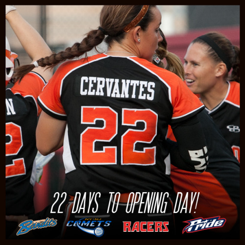 22 days until opening day!  June 5, 2013