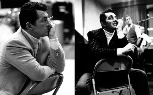 Man and his turtleneck.— Dean Martin