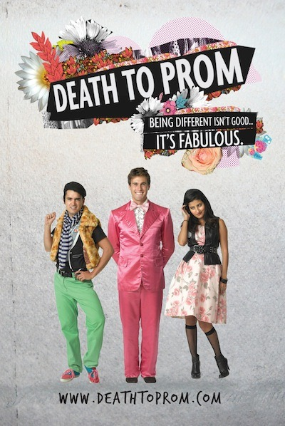 Death to Prom (2013)  Rene and Frankie, two best friends, make the best of going to high school by dreaming up high-fashion photo shoots and bribing their siblings to model for them. Rene loves his fashion magazines and designing clothes. Frankie lives for her camera and punk rock. The drama they dream up in their fashion shoots becomes very real when they end up fighting over their classmate Sasha, a shy soccer player with a soft spot for poems by Pushkin.  Cast: Hina Khan, Ricardo Vázquez, Andrew Keives Follow this blog for the neverending list of all the teen movies ever made!