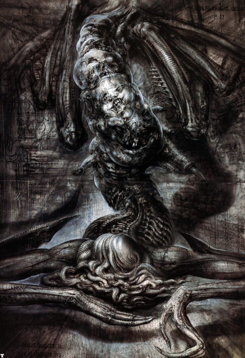 antsintheafterbirth:  thusreluctant: The Great Beast by H.R. Giger