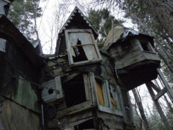 photorator:  Whimsical abandoned house in Nova Scotia Canada Old photo taken by a friend   AMAZING!