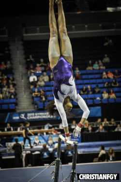 Flick I shot of Randii Wyrick (@raandiiiiii) x #LSU x NCAA Womens Gymnastics National Championships at UCLA.