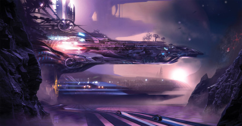 futureplanets:  NORT City by Alex Ruiz