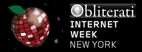 Obliterati: Internet Week NY 2013  Internet Week NY is here and there is no better way to round out a week of partying, paneling and networking than a pleasant spring evening in Sweet & Vicious's delectable back garden slapping back scrumptious jargaritas with New York's most glittering, self-obliterating literati. This month we are rocking out on a special night, FRIDAY MAY 24TH! Yes, when all is said and done, your friends and mine will be there, along with photos from RandomNightOut.com and the musical stylings of DJ Frankenmack!  [RSVP HERE]