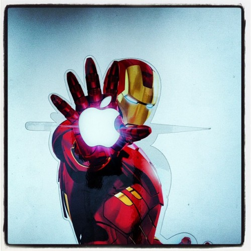 My Mac looks better than yours. #IronMan #Marvel #Mac #Apple