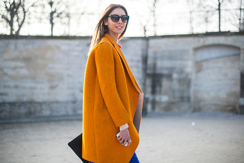 welovewolficity:  Tangerine Boxy Coat- TREND ALERT View Post