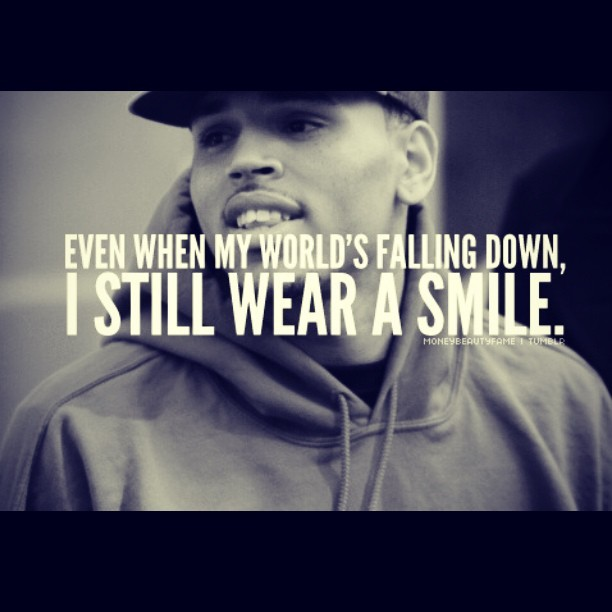 Even when my worlds falling down … I still wear a #smile #chrisbrown #fashion #menswear #clothing #fashionpr #stylist #charliefi