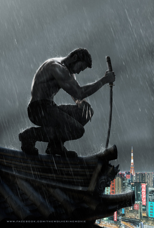 Il pin-up del giorno: The Wolverine. International Poster. lookatthisfrakkinggeekster:  International Movie Poster for THE WOLVERINE.