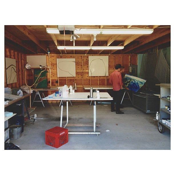 #studio #visit with Eric Hopkins #mdi #maine #vsco #vscocam