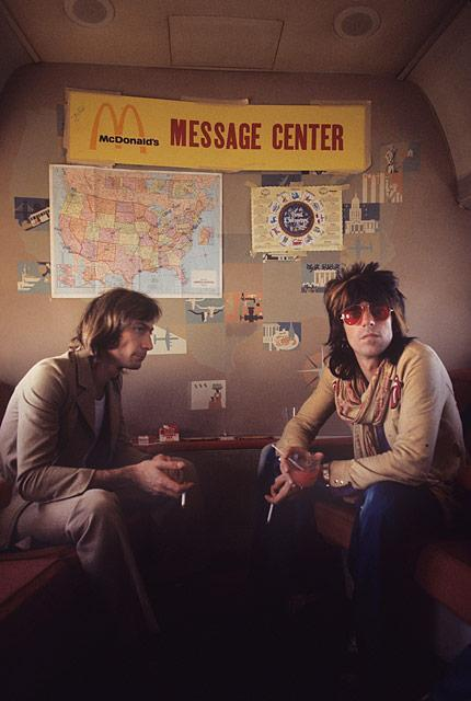 galo-71:  KEITH RICHARDS & CHARLIE WATTS `72