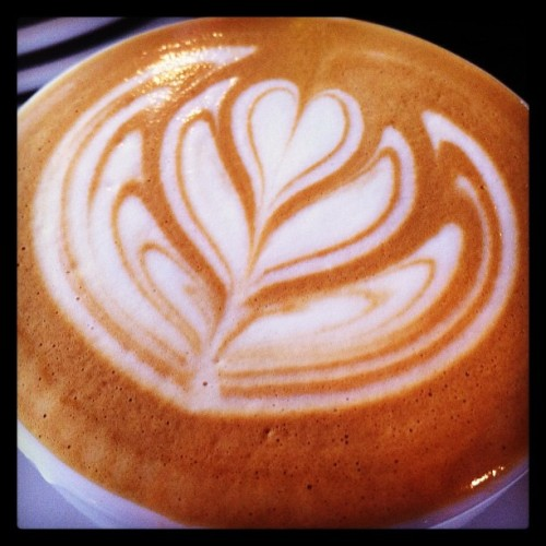 Six layers for #FiveOunceFriday, part two. #Coffee #LatteArt #RoastersCanPour