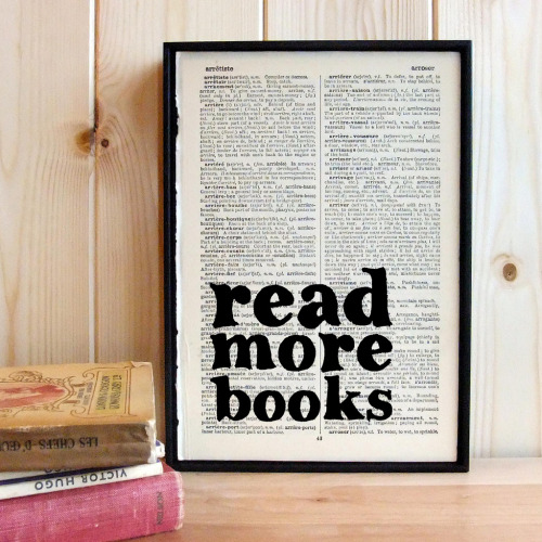 teachingliteracy:  Read More Books (by wallenvyart)