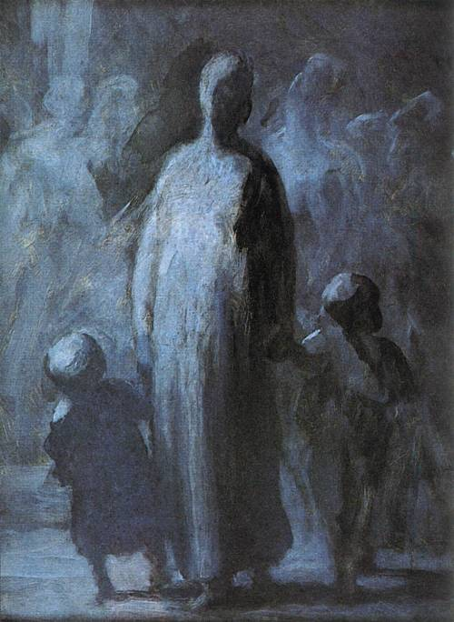 Daumier, Honoré - Mother