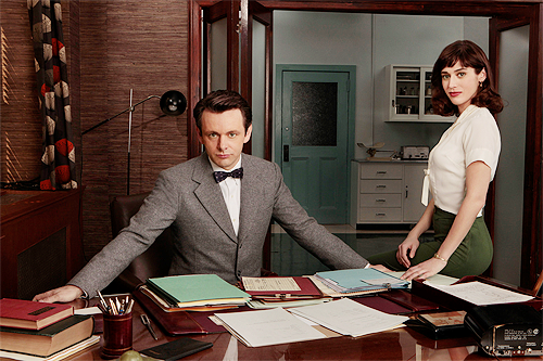 matthewgooden:  Michael Sheen & Lizzy Caplan in the new Shotime series Masters of Sex (Sept 29)