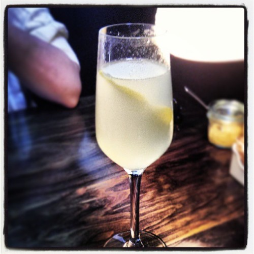 french 75 (at Bastille Café & Bar)