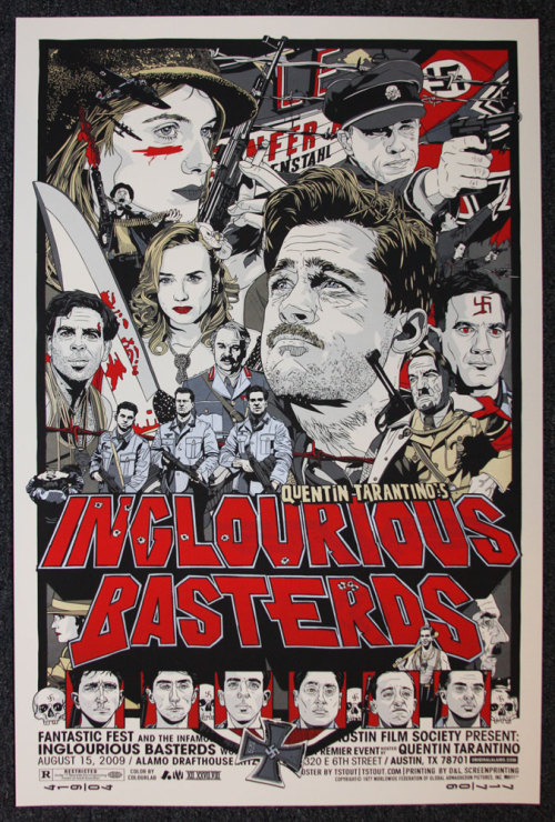 Inglorious Basterds Fan Poster