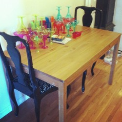 New table!!!!