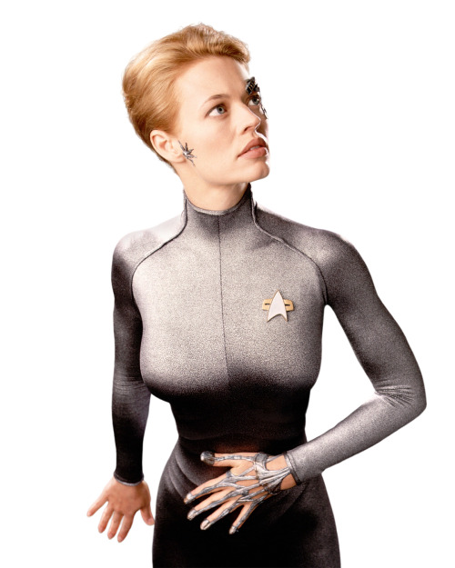 mrsmarymorstan:   Star Trek: Voyager (x)  I love this crew. They are by far my favourite in the franchise because they truly were a family. They each trusted each other and allowed each other to have their say - whether they were a lowly ensign or a former borg.