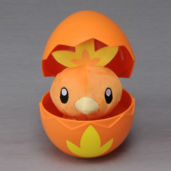 simplypokemon:  pink-pokemon:  Pokemon Egg Plush by Takara TOMY — Coming April 2013  how adorable!