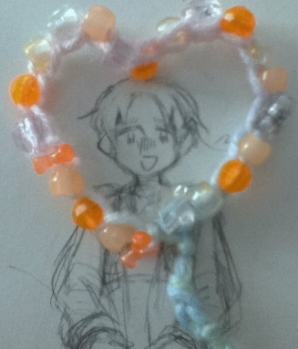 I put my bracelet down and went to go do something and only noticed this  after I came back