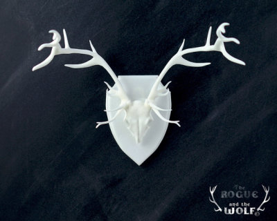 """Stag"" Faux Taxidermy by TheRogueAndTheWolf"