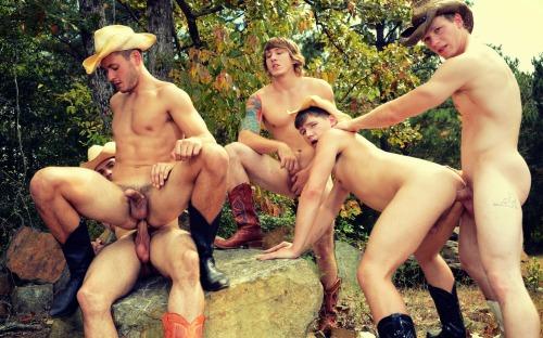 Cowboys outdoors