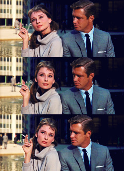 "vintagegal:    ""Oh, I love New York.""  Breakfast at Tiffany's (1961)"