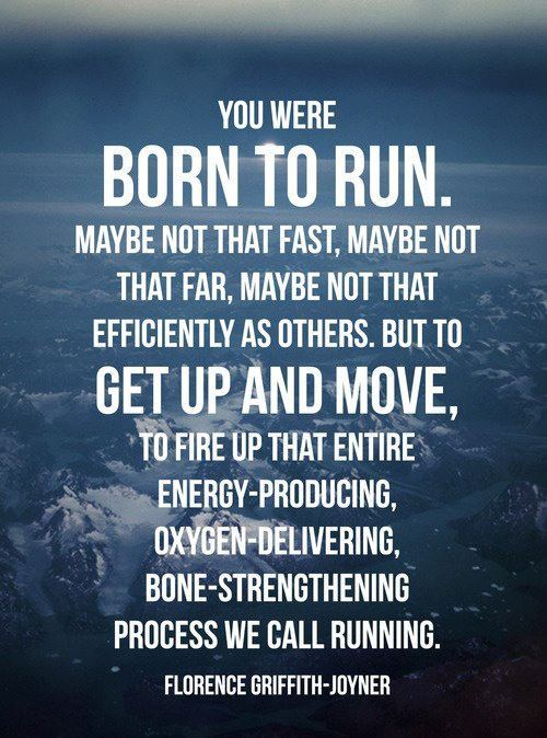Born To Run!