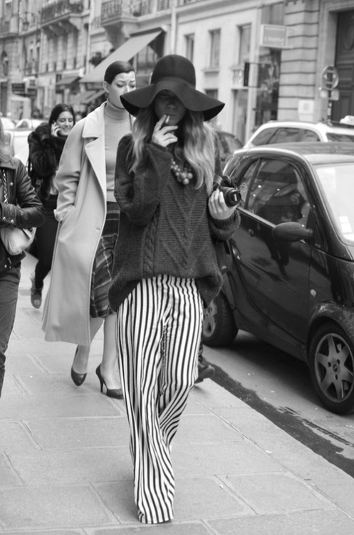 tomorrow-today-now:  STYLING INSPIRING / oh such style #pinstripes on We Heart It. http://weheartit.com/entry/58388229/via/paulaperuchi