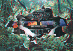 ≡ 3D (by Mowgli Omari) Three new Anaglyph 3D collages to come over this weekend. Get your glasses out and let me know what you guys think! ΛλOWGLI Tumblr | Flickr | Facebook