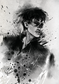 grimmsever:  The Outsider by *moni158  *_*