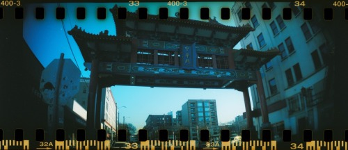 Chinese Gate To Seattle's International District ©2014 Kent Kangley