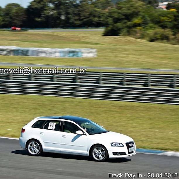 Primeiro track day do albino. #audi #a3 #aic #trackday