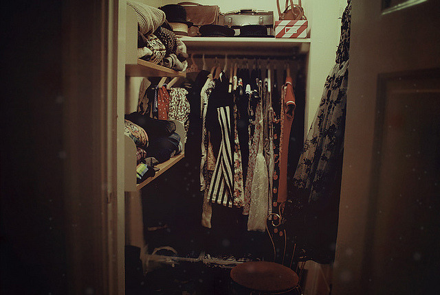 jihyoo:  walkincloset by -hille- on Flickr.