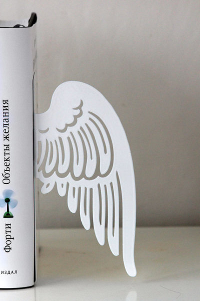 """Angel Wings"" Bookends by DesignAtelierArticle"