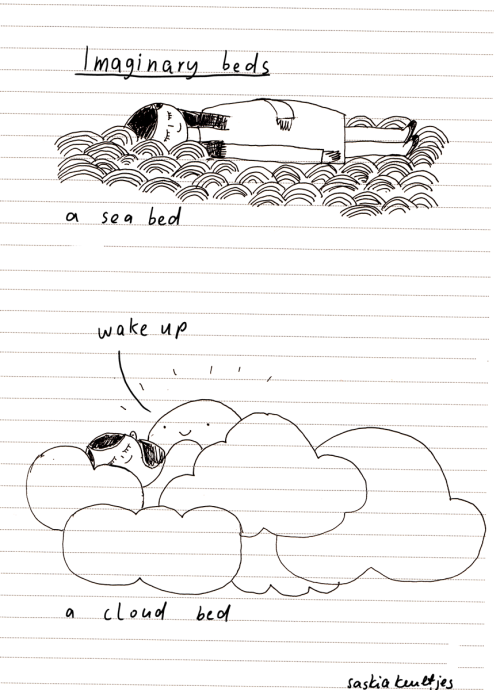 Today: I want to lay down a mood drawing from my sketchbook  by Saskia Keultjes   shop facebook