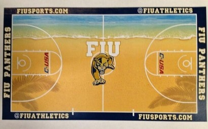 FIU's beach towel court is apparently really happening