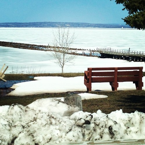 Lunchtime view. #lakesuperior