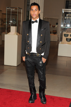 derriuspierre:  Olivier Rousteing attend the 'Schiaparelli And Prada: Impossible Conversations' Costume Institute Gala at the Metropolitan Museum of Art on May 7, 2012 in New York City.