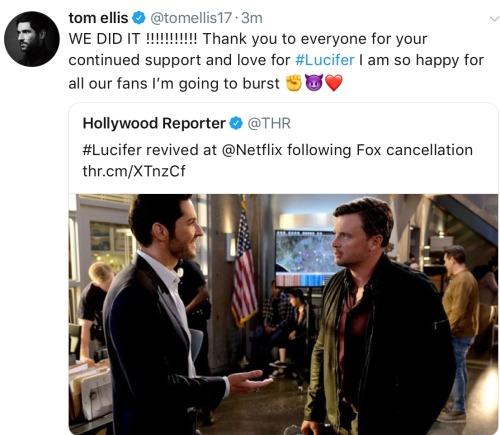 Lucifer Picked Up By Netflix For Season 4 By Netflix Fan: Lucifer (morningstar)