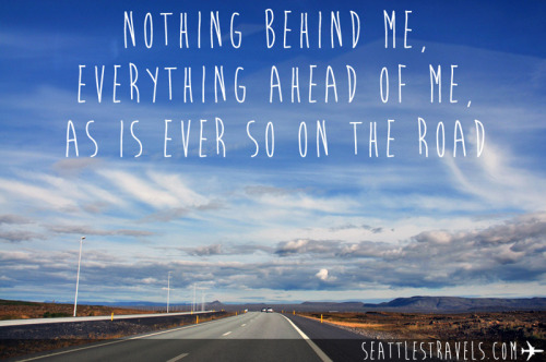 seattlestravels:  Jack Kerouac, On The Road.