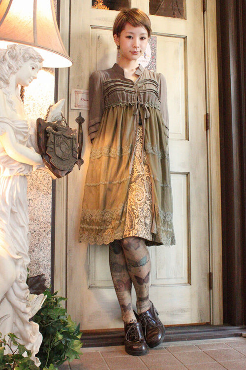 Lovely coord! I love the jacket-dress!