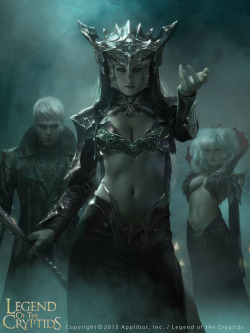 Dark Queen Guinevere (Advanced) by Cryptcrawler