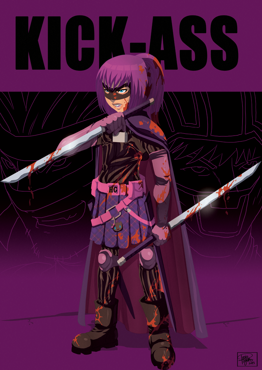 Hit-girl by =TovioRogers