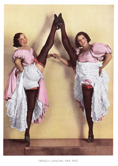 back-then:  Cancan. 1934