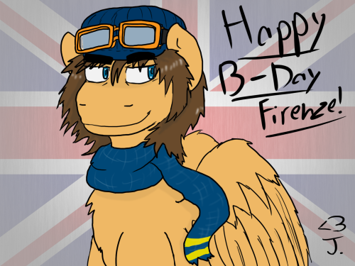 Happy late-ass Birthday to Firenze, my original bro! Sorry for being so late on this man!  Hope exams go well for you and hope to see you back on track over the summer.