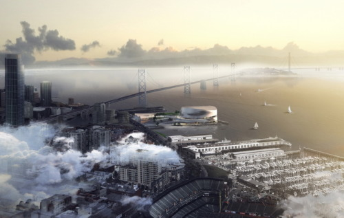 New Golden State Warriors Arena by Snøhetta + AECOM