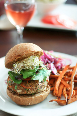 Veggie Burgers-12 by Sonia! The Healthy Foodie on Flickr.