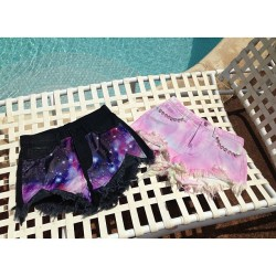 Working on our tan… New UNIF shorts available now!