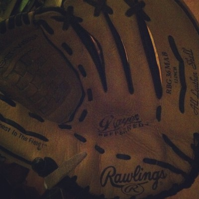 We back out here #softball#rawlings#glove#panthers#spring#sports@athlete#studentathlete